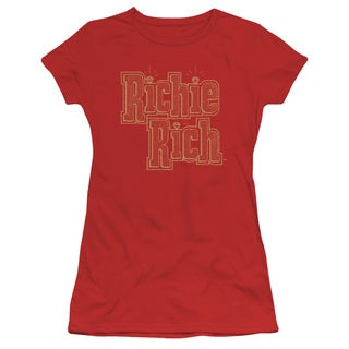 Richie Rich/Stacked Junior Sheer in Red