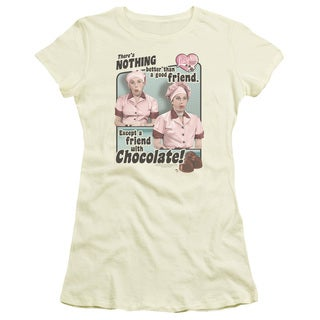 Lucy/Friends & Chocolate Junior Sheer in Cream