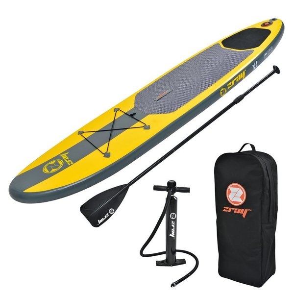 Zray Paddle Board Inflatable SUP Package (Board, Pump, Paddle and Backpack)