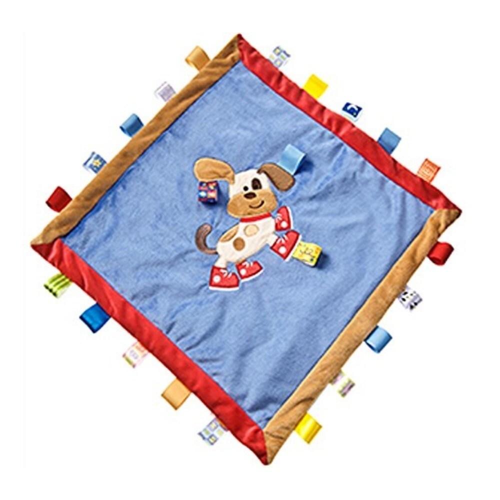 Taggies Buddy Dog Multicolor Polyester Cozy Blanket (Budd...
