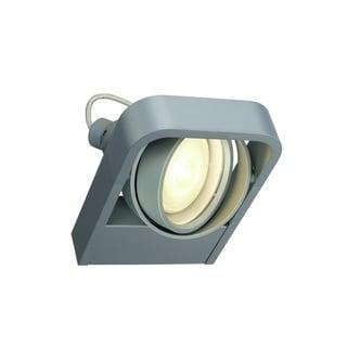 SLV Lighting Aixlight R2 Silver Aluminum ADA Wall Lamp