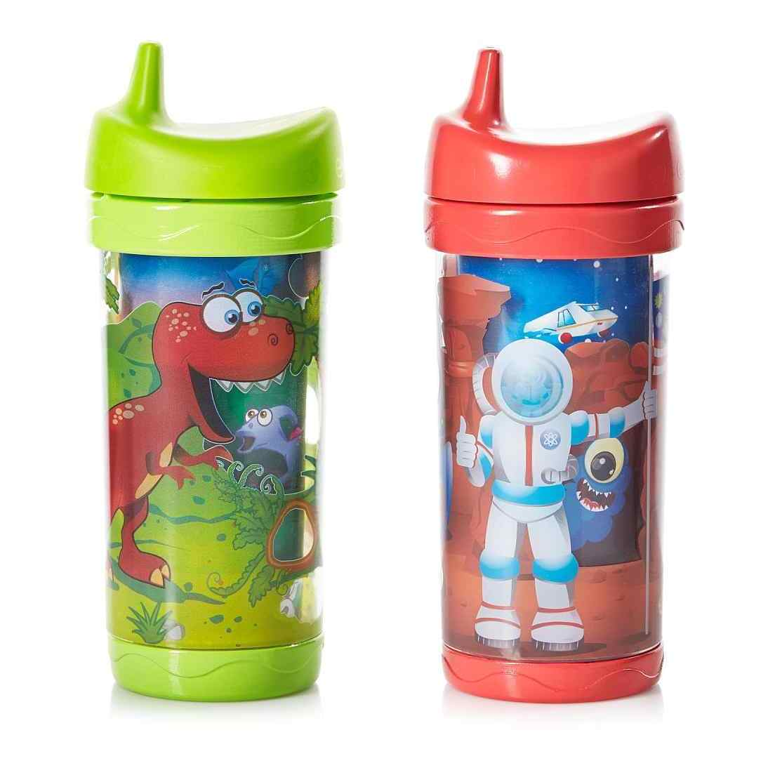 Evenflo Sip and Seek Pack of Two 10-ounce Insulated Cups ...