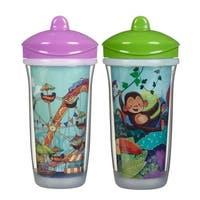 Playtex Purple Fair/Green Jungle 9-ounce Pack of 2 Insulator Cup