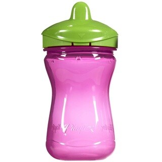 Playtex Anytime Purple and Green 9-ounce Spill-proof Spout Cup