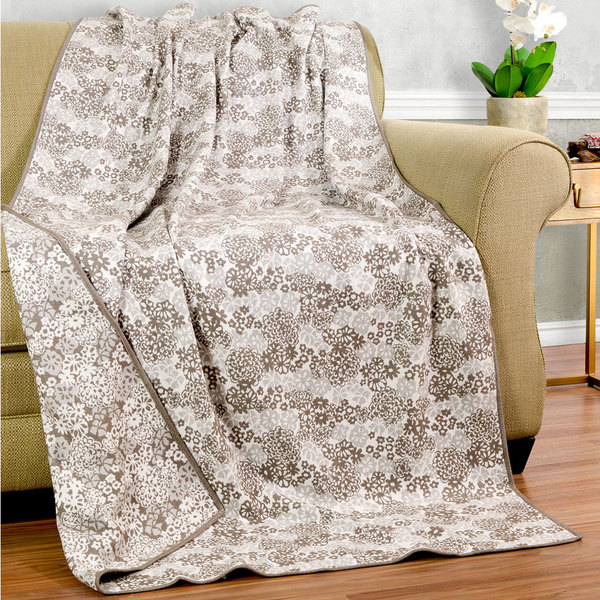 Bedford Cottage Floral Collection Botanical Throw