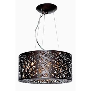 Maxim Lighting Inca Collection Bronze-finish Steel 7-light Pendant