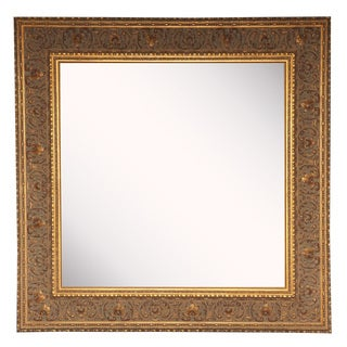 American Made Rayne Opulent Gold Square Mirror Sets