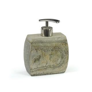 Natural Finish Stone Soap Pump