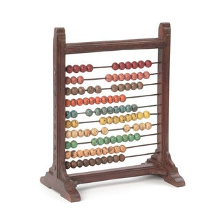 Hip Vintage Multicolor Wood Mini Abacus