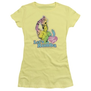 Lucy/Let's Rumba Junior Sheer in Banana