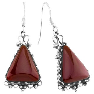 Haven Park Artisan Carnelian Dangle Earrings