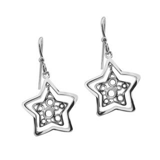 Haven Park Sterling Silver Star Dangle Earrings