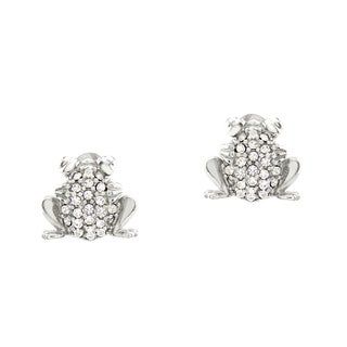 Haven Park Sterling Silver Frog Stud Earrings