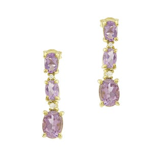 Haven Park 14K Gold Vermeil Amethyst Earrings