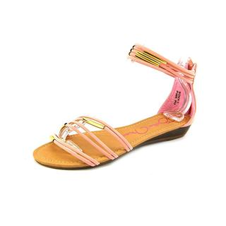 Bella Marie Women's Sony-1 Pink Polyurethane Sandals
