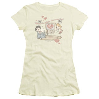 Lucy/Home Is Where The Heart Is Junior Sheer in Cream