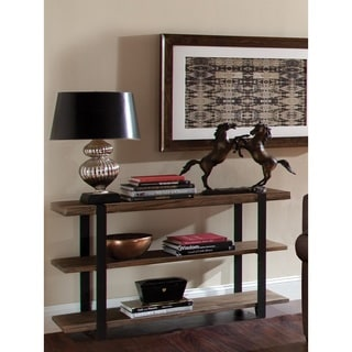 Modesto Natural Rustic Media/Console Table