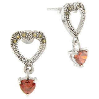Haven Park Hearts and Hearts Dangle Earrings