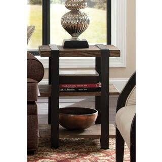 cosy mission style living room furniture. Carbon Loft Kenyon Reclaimed Wood with Metal Straps 3 shelf End Table Mission  Craftsman Coffee Console Sofa Tables For Less