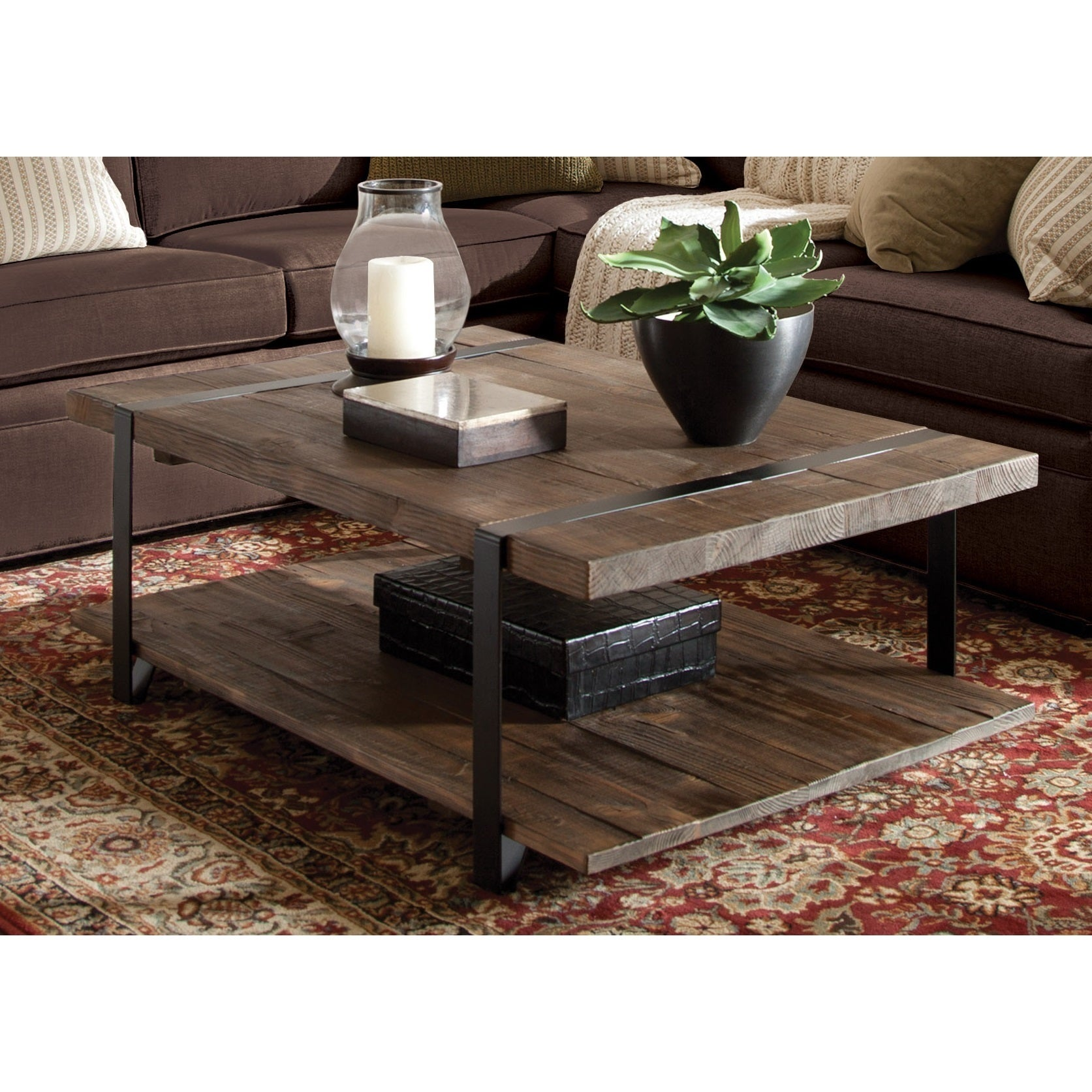 Shop Carbon Loft Kenyon Natural-finished Reclaimed Wood