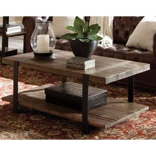 Modesto Natural Rustic Coffee Table