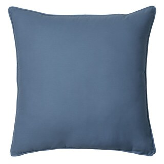 IZOD Chambray Stripe European Square Pillow