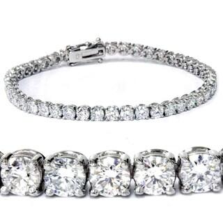 14k White Gold 7ct TDW Lab-Grown Eco Friendly Diamond 7-inch Tennis Bracelet (F-G, SI1-SI2)