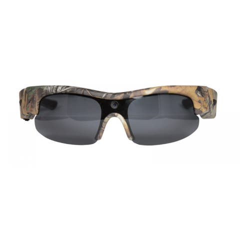 Moultrie Sport Camo Plastic Glasses with Built-in HD Video Camera