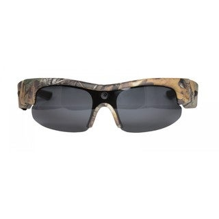 Moultrie Sport Camo Plastic Glasses With Built In HD Video Camera