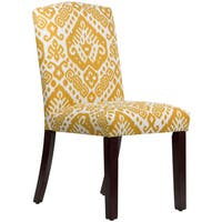 Skyline Furniture Safi Maize Upholstered Arched Dining Chair
