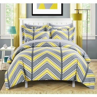 Chic Home Dallas Yellow 3-piece Duvet Cover Set