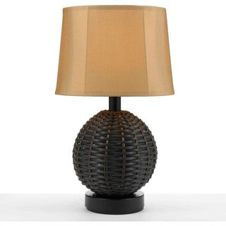 AF Lighting 8918-TL Portico Gold Shade Outdoor/Indoor Table Lamp