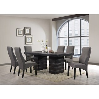 K and B Furniture Co Inc D505-T Cappuccino Wood Dinette Table