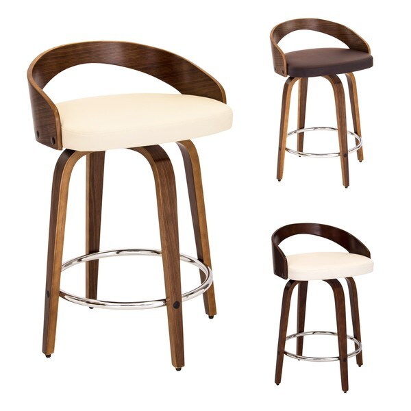 LumiSource Grotto Faux Leather Mid century Modern Counter  : Grotto Mid Centuruy Modern Counter Stool 308ea3ff 74a1 43e2 b4f1 1c3b9c8c5ab2600 from www.overstock.com size 600 x 600 jpeg 30kB