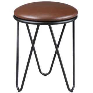 K and B Furniture Co Inc ST1503-BL Metal Stools (Set of 2) (2 options available)