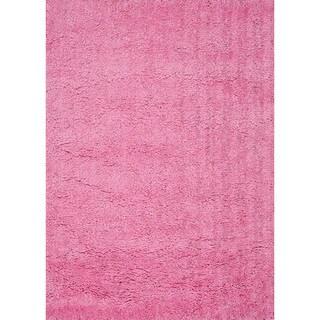 Hand-tufted Hedwig Pink Rug (3'6 x 5'6)