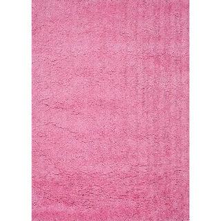 Hand-tufted Hedwig Pink Rug (5' x 7'6)