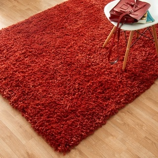 Hand-tufted Hedwig Red Rug (5' x 7'6)