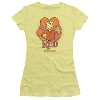 Fraggle Rock/Red Circle Junior Sheer in Banana in Banana