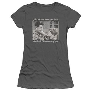 Andy Griffith/Wise Words Junior Sheer in Charcoal