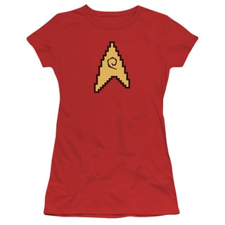 Star Trek/8 Bit Engineering Junior Sheer in Red