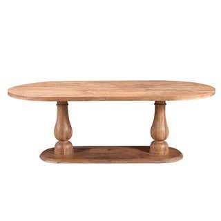 Aurelle Home Rustic & Reclaimed Solid Dining Table