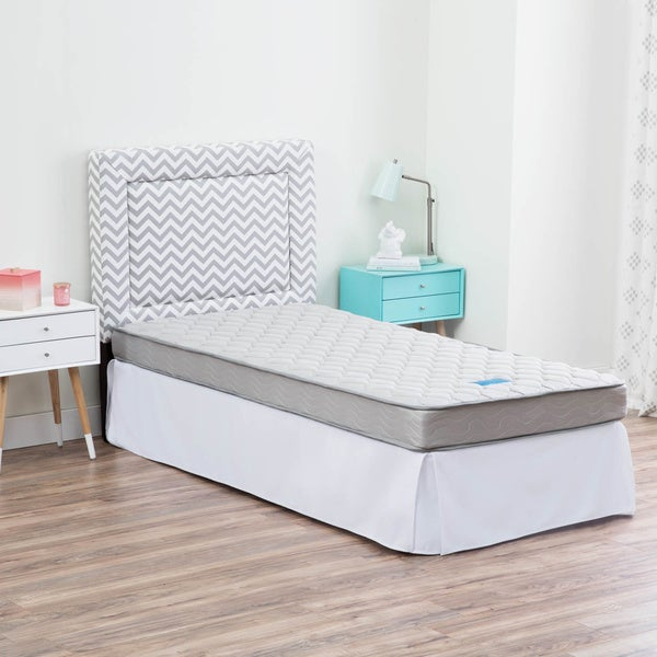 linenspa full xl size innerspring mattress free shipping today 18827821. Black Bedroom Furniture Sets. Home Design Ideas