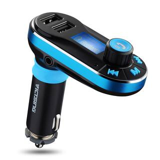 Wireless Bluetooth Car Music Player FM Transmitter|https://ak1.ostkcdn.com/images/products/11939856/P18827864.jpg?impolicy=medium