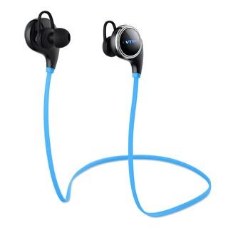 Swan Sport Bluetooth Wireless Stereo Built-in Mic/ aptX Black Headphones