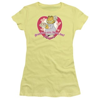 Garfield/Don't Forget Grandma Junior Sheer in Banana