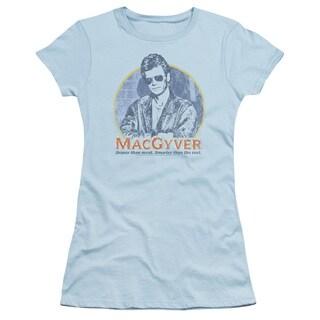 Macgyver/Title Junior Sheer in Light Blue in Light Blue
