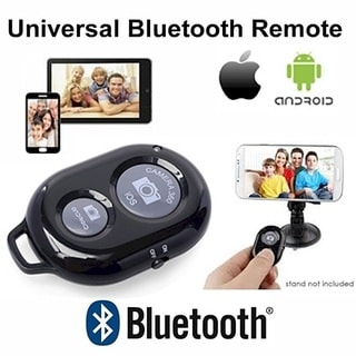 Bluetooth Remote Control - iOS, Android - Wireless Universal Camera Shutter (Create Great Photo's and Video's)