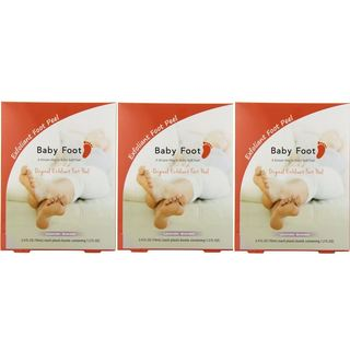 Baby Foot Lavender Easy Pack 1.2-ounce Exfoliant Foot Peel (Pack of 3)