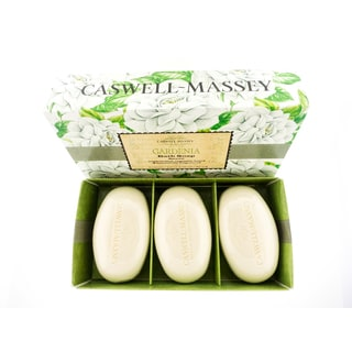 Caswell-Massey Gardenia Box of 3 Soaps